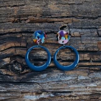 Ohrhänger nachtblau