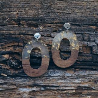 Ohrhänger Holz