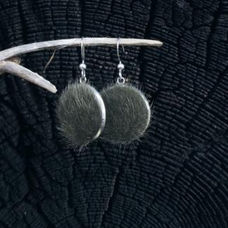 Ohrhänger Kunstfell