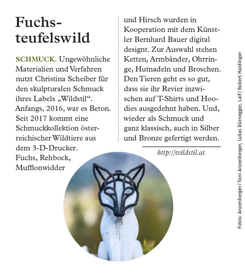 """Artikel im ADAC-Reisemagazin """"Kärnten"""" 2019"""