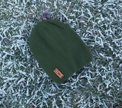 Beanie Rehbock grün