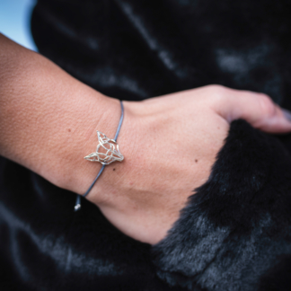 Fuchs-Armband Silber
