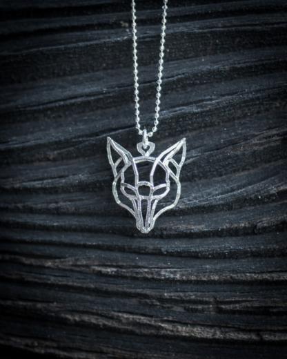 Fuchskette Silber 2