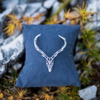 Hirschkette Mini Silber