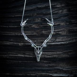 Hirschkette Silber
