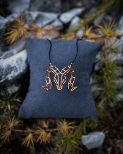 Mufflonwidderkette Mini Bronze