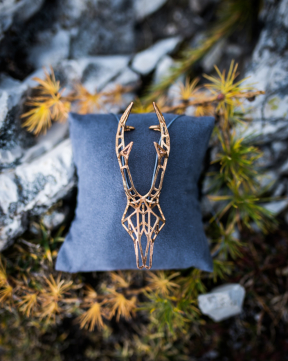 Rehbockkette Bronze