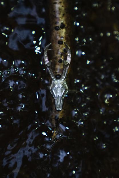 Rehbockring Silber