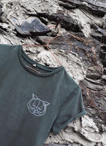 t-shirt-eule-gruen-detail