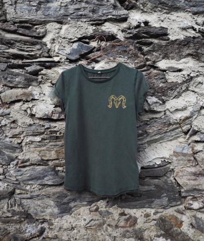 T-Shirt goldener Widder