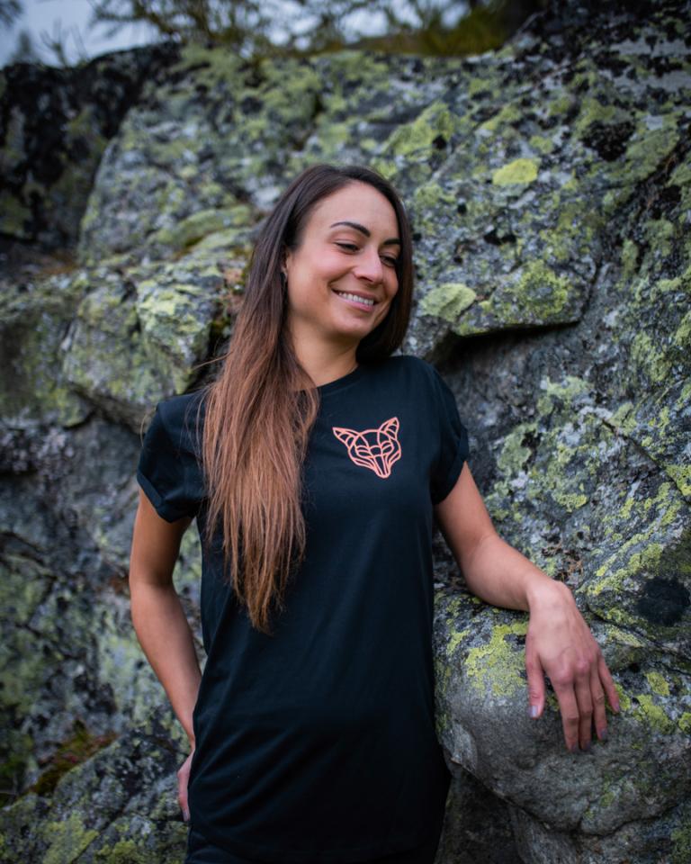 T-Shirt Fuchs Damen | Wildstil