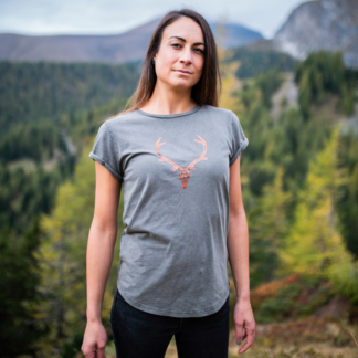T-Shirt Kupferhirsch