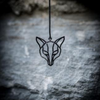 Wolfskette Stahl 3 Schwarz